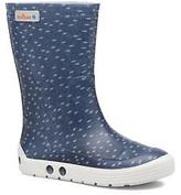 Méduse Kids's Airdim Rounded toe Boots in Blue