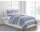Online Chase Stripe Powder Blue 2-Piece Reversible Comforter Set