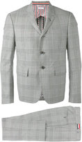 Thom Browne classic woven suit - men - Cupro/Wool - 1