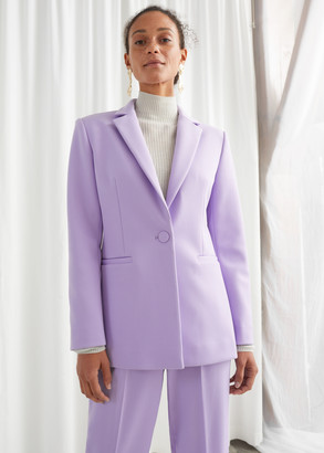 And other stories Structured Single Buttoned Blazer
