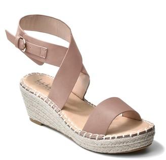 Nicole Miller Corbin Wrap Ankle Strap Espadrille Sandal