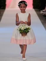 Oscar de la Renta Colette Taffeta Sleeveless Dress