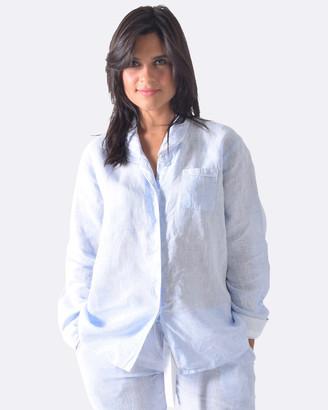 Sant and Abel Bora Bora Blues Women's Long PJ Shirt