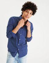 American Eagle Outfitters AE Print Poplin Shirt