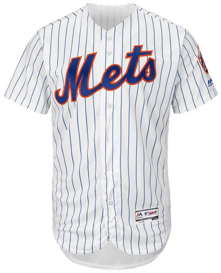 Majestic Men's New York Mets Flexbase On-Field Jersey