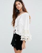 Raga Sun Goddess Coin Blouse