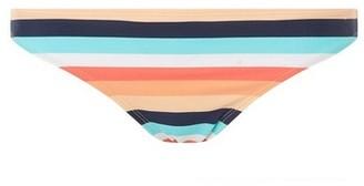 Dorothy Perkins Womens Dp Beach Coral Multi Striped Bikini Bottoms, Coral