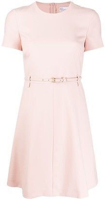 RED Valentino belted short dress