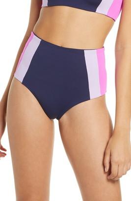 L-Space Portia Girl High Waist Bikini Bottoms