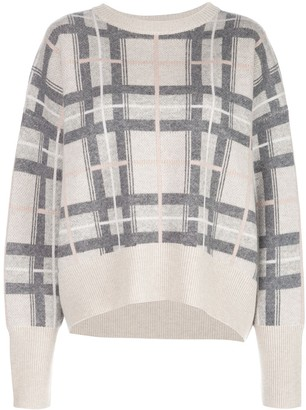 Le Kasha Checked Cashmere Jumper