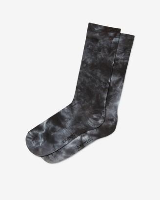 Express Tie Dye Dress Socks