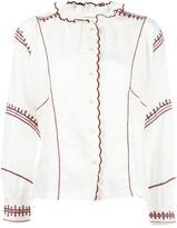 Etoile Isabel Marant Delphine blouse - women - Linen/Flax/Polyester - 36