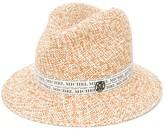 Maison Michel Bobbie panama straw trilby hat