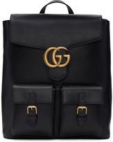 Gucci Black Marmont Backpack