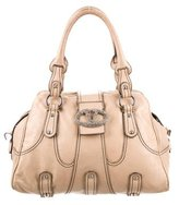 Valentino Leather Embellished Bag