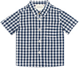 Gucci Baby check cotton shirt