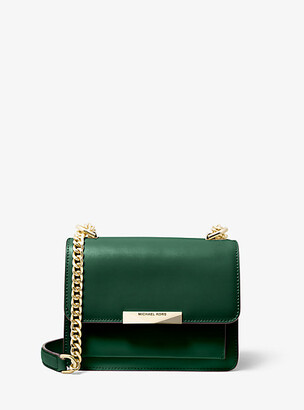 Michael Kors Jade Extra-Small Leather Crossbody Bag