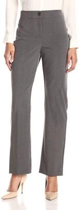 Briggs New York Women's Bistretch Tummy Straight Leg Pant
