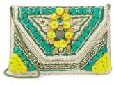 Antik Batik Cotton Floral Clutch