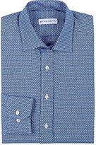 Etro Men's Geometric Jacquard Shirt-BLUE