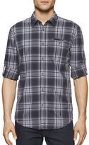 Calvin Klein Jeans Plaid Roll Tab Shirt