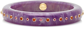 Mark Davis Purple Evelyn Bangle