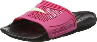 Speedo Women's Rapid Ii Slides Flip Flops Sandals Black Pink Size Uk 4 - 78-046964020 (Uk 7)