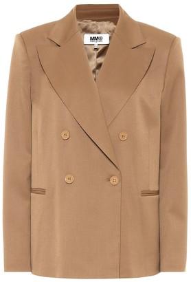 MM6 MAISON MARGIELA Wool-blend blazer