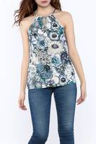 Love Stitch Lovestitch Printed Tank Top