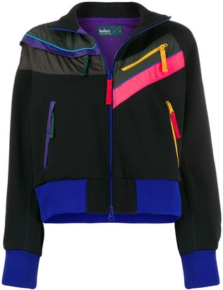 Kolor Zip-Detail Bomber Jacket