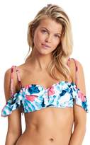 Seafolly Women's Tropical Vacay Cold Shoulder Bandeau Swim Top