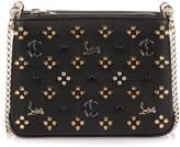 Christian Louboutin Triloubi small black logo studded bag