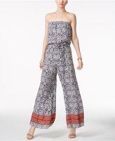 MSK Strapless Wide-Leg Jumpsuit