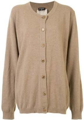 Chanel Pre Owned 1993 Cashmere Cardigan