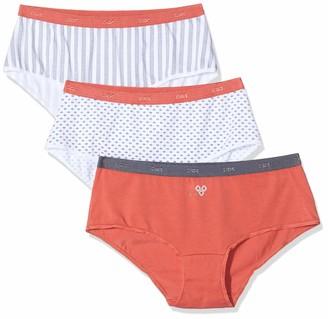 Dim Women's Boxer LES Pockets Coton X3 Boy Short
