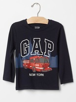 Gap City fire truck tee