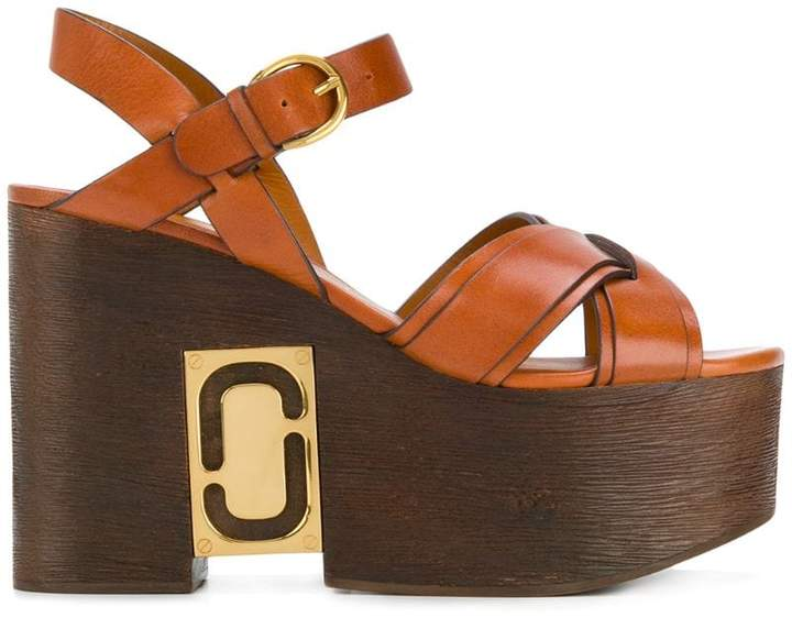Marc Jacobs Paloma Status wedge sandals