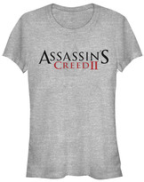 Fifth Sun Women's Tee Shirts ATH - Assassin's Creed II Athletic Heather Crewneck Tee - Women & Juniors
