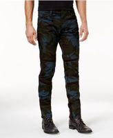 G Star Men's Slim-Fit Moto Camo Pants