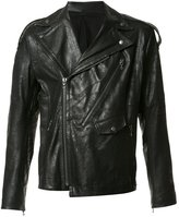 Julius biker jacket - men - Lamb Nubuck Leather - 3