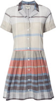 Sea plaid shirt dress - women - Cotton/Polyester - 2