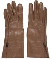 Hermes Leather H Gloves
