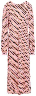 Hofmann Copenhagen Celina Striped Stretch-crepe Midi Dress