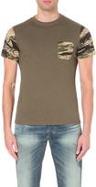 Diesel T-diego-pkt camouflage-print cotton t-shirt