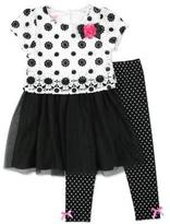 Nannette Girls Dress and Leggings set