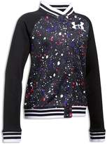 Under Armour Girls' Paint Splatter Bomber Jacket