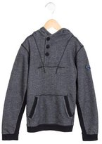 Armani Junior Boys' Hooded Pullover Sweatshirt