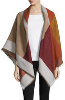 Collection 18 Fringed Geometric Wrap