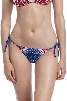 YAMMA Women's Swimwear Side-Ties Bikini Bottom