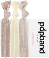 Dorothy Perkins Womens **Popband Blonde Hair Bands Pack of 3- Yellow